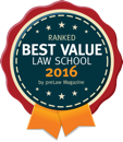 Best Value Law School 2016