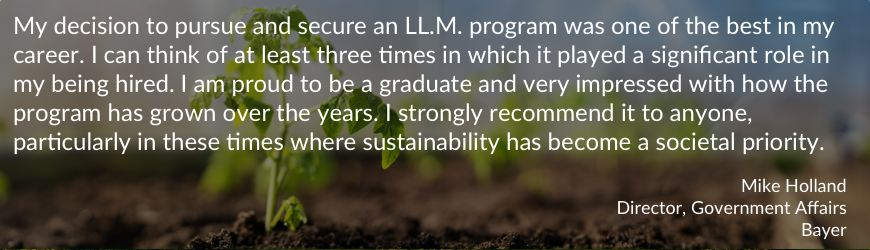 quote from an LL.M. graduate