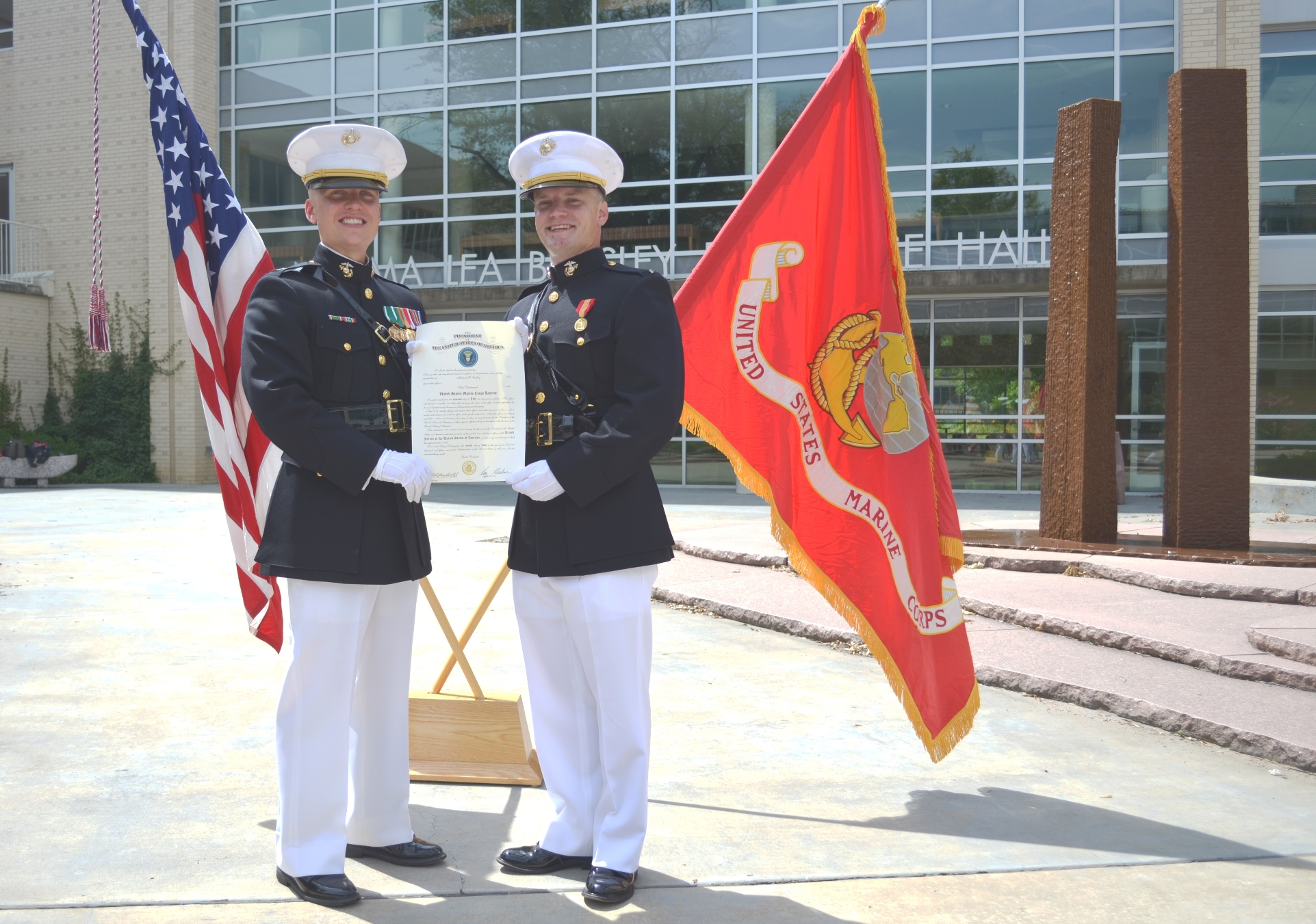 Arkansas law student to become marine corps judge advocate general officer - Becoming a marine officer ...