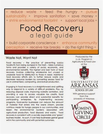 Food Recovery: a legal guide